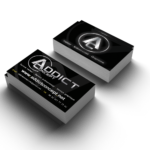 business card mockup_addict