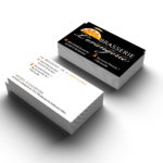 business card mockup_orangerie